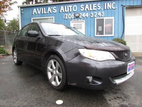 2008 Subaru Impreza for sale at Avilas Auto Sales Inc in Burien WA