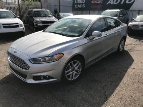 2014 Ford Fusion for sale at Supreme Stop Auto Sales in Detroit MI
