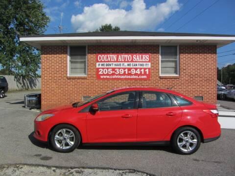 2014 Ford Focus for sale at Colvin Auto Sales in Tuscaloosa AL