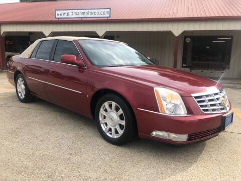 2008 Cadillac DTS for sale at PITTMAN MOTOR CO in Lindale TX