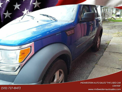 "2007 Dodge Nitro for sale at MIDWESTERN AUTO SALES        ""The Used Car Center"" in Middletown OH"
