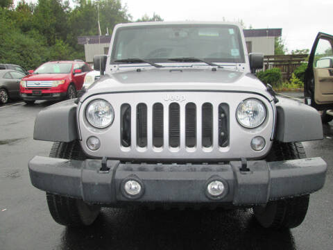 2017 Jeep Wrangler for sale at Olde Mill Motors in Angier NC