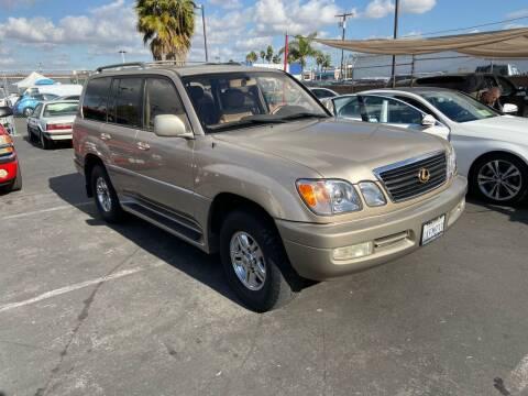2000 Lexus LX 470 for sale at Coast Auto Motors in Newport Beach CA
