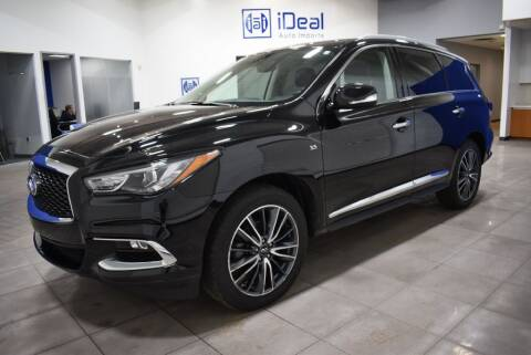 2017 Infiniti QX60 for sale at iDeal Auto Imports in Eden Prairie MN