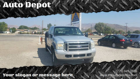 2006 Ford F-350 Super Duty for sale at Auto Depot in Carson City NV