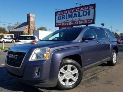 2013 GMC Terrain for sale at Grimaldi Auto Sales Inc in Warren MI