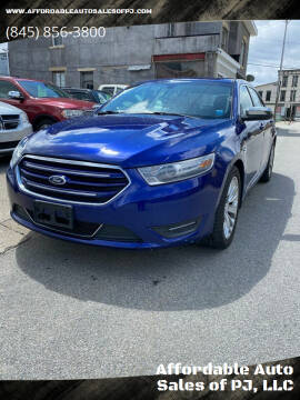 2013 Ford Taurus for sale at Affordable Auto Sales of PJ, LLC in Port Jervis NY