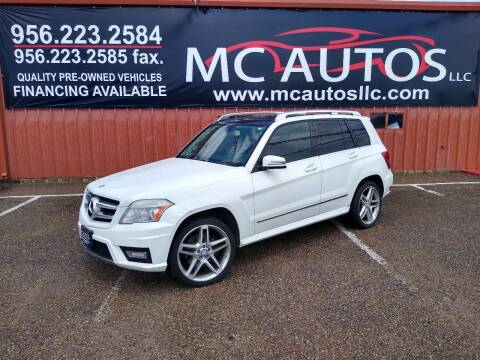 2011 Mercedes-Benz GLK for sale at MC Autos LLC in Pharr TX