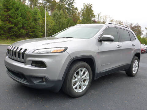 2018 Jeep Cherokee for sale at RUSTY WALLACE KIA OF KNOXVILLE in Knoxville TN