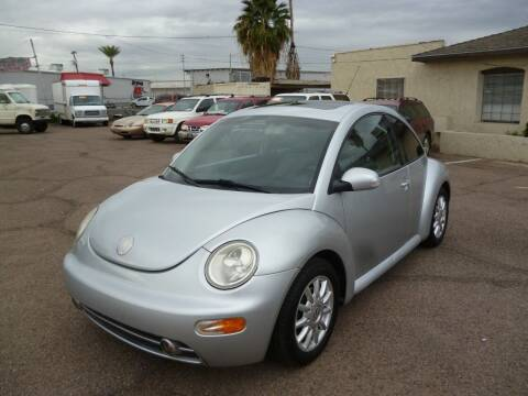 2004 Volkswagen New Beetle for sale at Grand Avenue Motors in Phoenix AZ