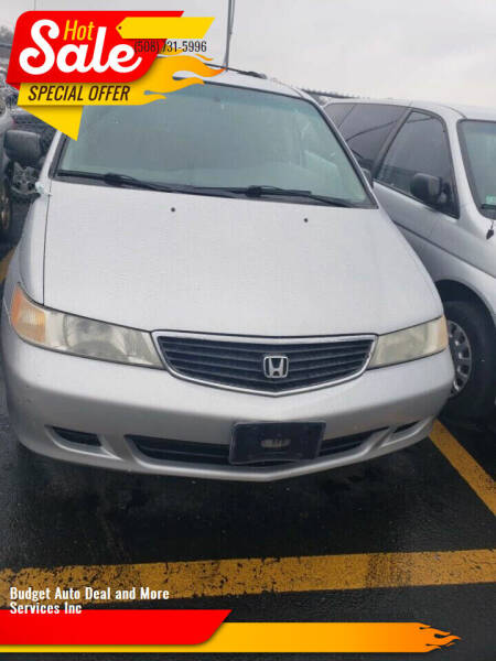 2001 Honda Odyssey for sale at Budget Auto Deal and More Services Inc in Worcester MA