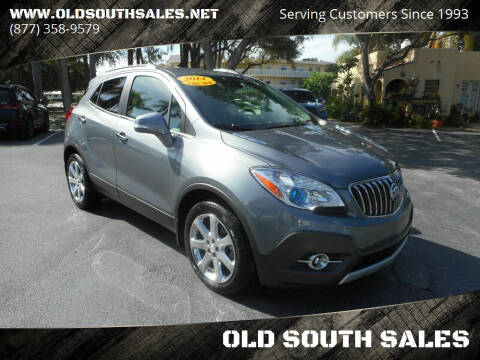 2014 Buick Encore for sale at OLD SOUTH SALES in Vero Beach FL