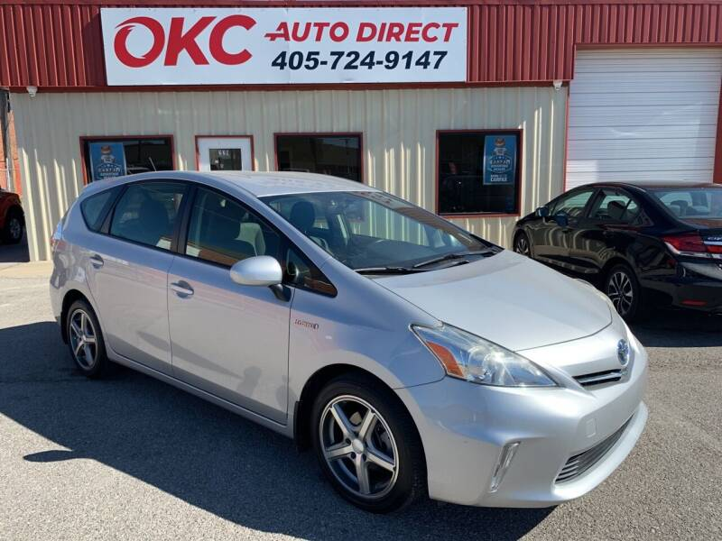 2013 Toyota Prius v for sale at OKC Auto Direct in Oklahoma City OK