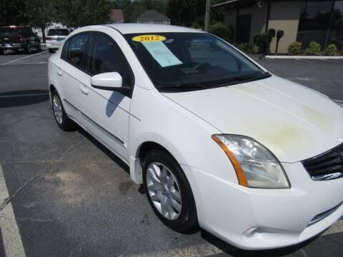 2012 Nissan Sentra for sale at Maluda Auto Sales in Valdosta GA