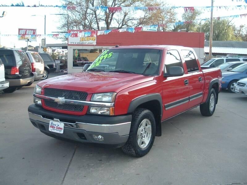 2005 Chevrolet Silverado 1500 for sale at Rex's Auto Sales in Junction City KS