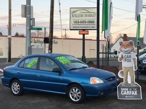 2003 Kia Rio for sale at Salem Auto Market in Salem OR