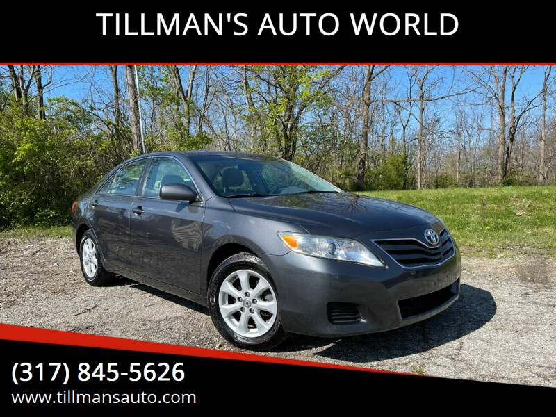 2011 Toyota Camry for sale at TILLMAN'S AUTO WORLD in Greenwood IN