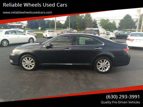 2011 Lexus ES 350 for sale at Reliable Wheels Used Cars in West Chicago IL