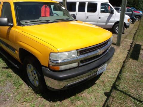 2004 Chevrolet Tahoe for sale at Sun Auto RV and Marine Sales in Shelton WA