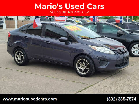 2013 Ford Fiesta for sale at Mario's Used Cars in Houston TX