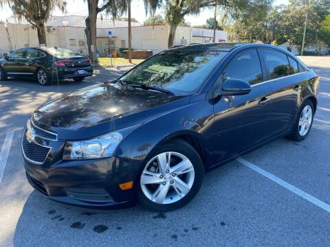 2014 Chevrolet Cruze for sale at CHECK  AUTO INC. in Tampa FL