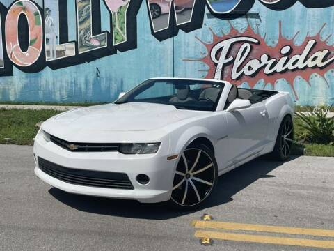 2014 Chevrolet Camaro for sale at Palermo Motors in Hollywood FL