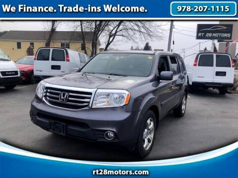 2015 Honda Pilot for sale at RT28 Motors in North Reading MA