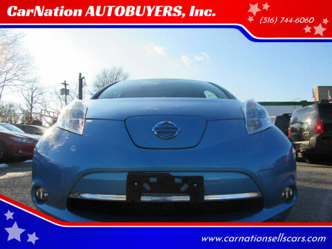 2012 Nissan LEAF for sale at CarNation AUTOBUYERS, Inc. in Rockville Centre NY