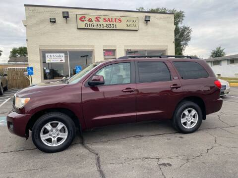 2008 Toyota Sequoia for sale at C & S SALES in Belton MO