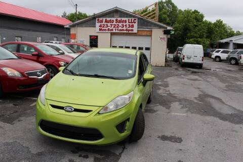 2011 Ford Fiesta for sale at SAI Auto Sales - Used Cars in Johnson City TN