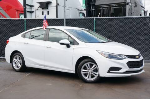 2017 Chevrolet Cruze for sale at MATRIX AUTO SALES INC in Miami FL