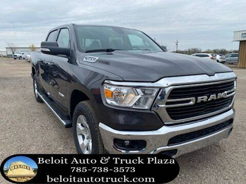 2021 RAM Ram Pickup 1500 for sale at BELOIT AUTO & TRUCK PLAZA INC in Beloit KS