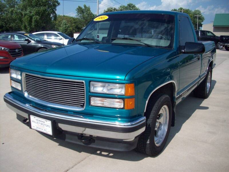 1995 GMC Sierra 1500 for sale at Nemaha Valley Motors in Seneca KS