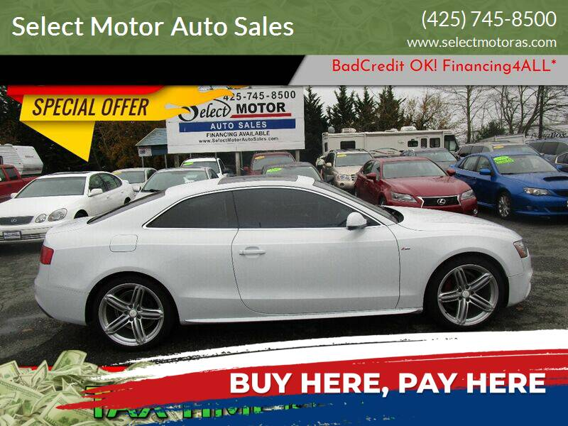 2013 Audi A5 for sale at Select Motor Auto Sales in Lynnwood WA