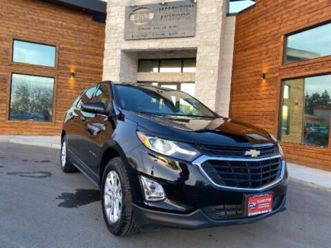 2018 Chevrolet Equinox for sale at Hamilton Motors in Lehi UT