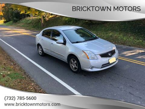 2010 Nissan Sentra for sale at Bricktown Motors in Brick NJ
