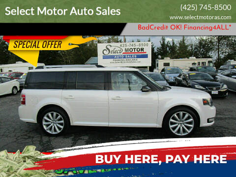 2013 Ford Flex for sale at Select Motor Auto Sales in Lynnwood WA