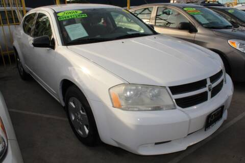 2008 Dodge Avenger for sale at FJ Auto Sales in North Hollywood CA