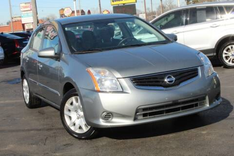 2012 Nissan Sentra for sale at Dynamics Auto Sale in Highland IN