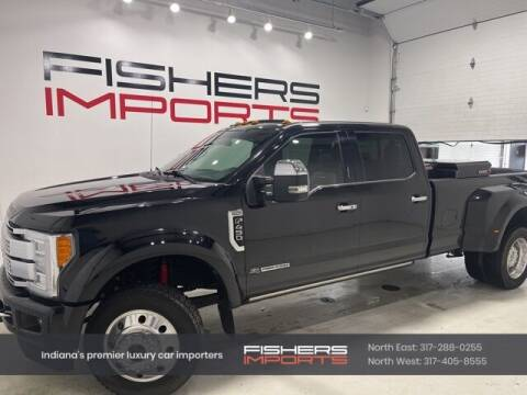 2017 Ford F-450 Super Duty for sale at Fishers Imports in Fishers IN