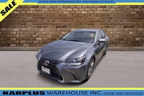 2016 Lexus GS 200t for sale at Karplus Warehouse in Pacoima CA