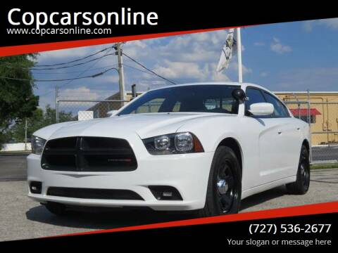 2013 Dodge Charger for sale at Copcarsonline in Largo FL