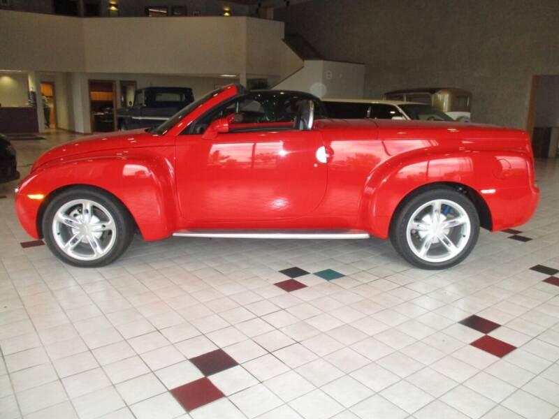 2003 Chevrolet SSR for sale at Elite Motors in Fargo ND