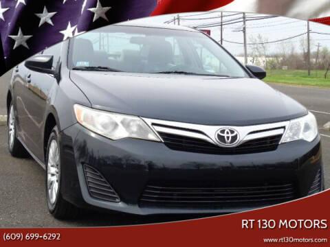 2014 Toyota Camry for sale at RT 130 Motors in Burlington NJ