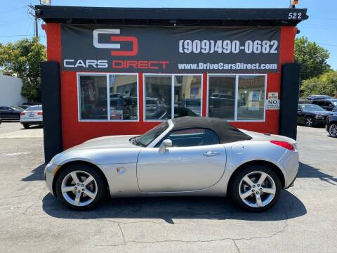 2008 Pontiac Solstice for sale at Cars Direct in Ontario CA