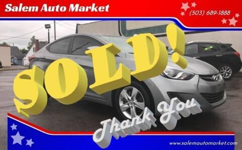 2011 Hyundai Elantra for sale at Salem Auto Market in Salem OR