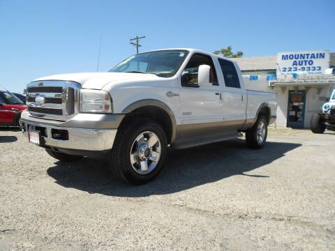 2006 Ford F-250 Super Duty for sale at Mountain Auto in Jackson CA