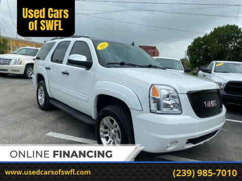 2011 GMC Yukon for sale at Used Cars of SWFL in Fort Myers FL