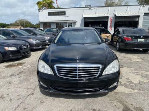2008 Mercedes-Benz S-Class for sale at America Auto Wholesale Inc in Miami FL