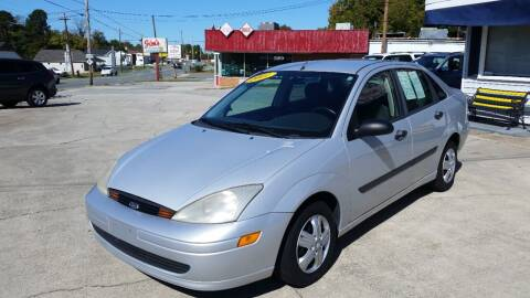2001 Ford Focus for sale at West Elm Motors in Graham NC